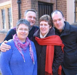 Lesley & Neil Favager and Gill &Richard Alexander - Youth leaders