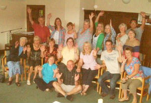 PCC Members and guest at Shepheds Dene Away Day