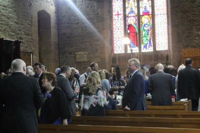 Wedding inside St John's