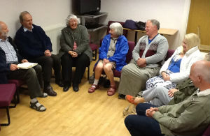 Monday night prayer group