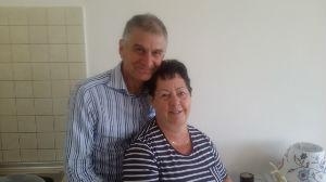 Pastor Jamie Tonge and his wife Christine