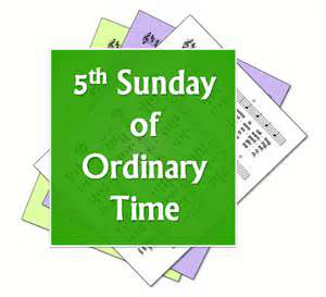 5th Sunday Ordinary time