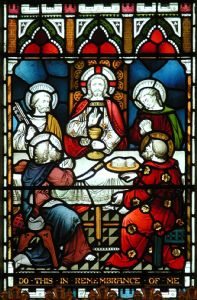 Lords Supper window