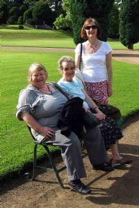 Ruth, Cynthia and Hilary