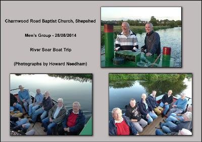 Mens Group Boat Trip