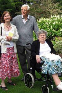Hilary, Alan and Peggy