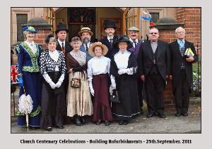 Deacons in 1911 costune