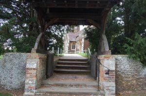 Sandringham Church Gate
