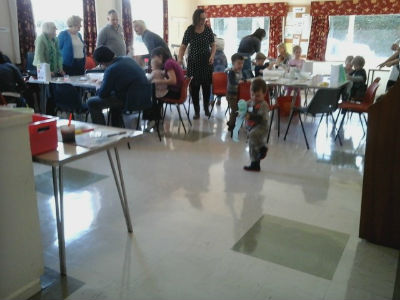 Families at St Peter's