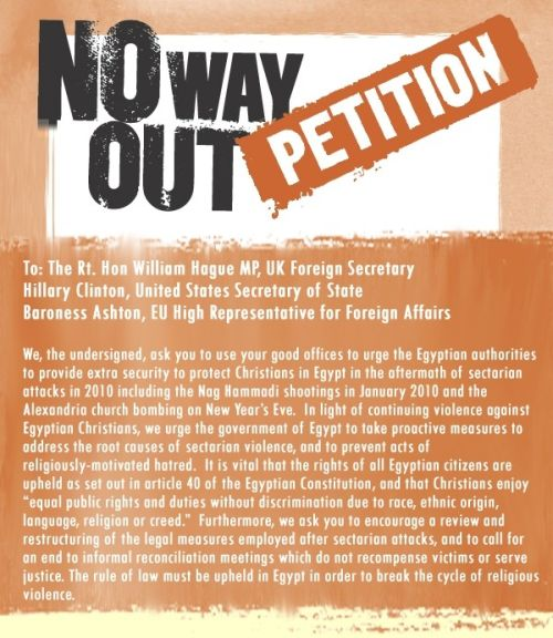 No Way Out Petition