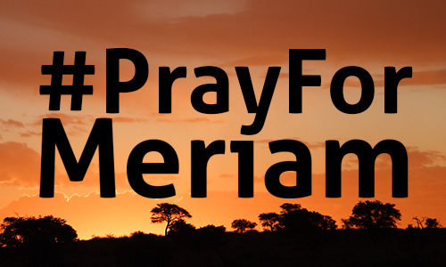 pray for meriam