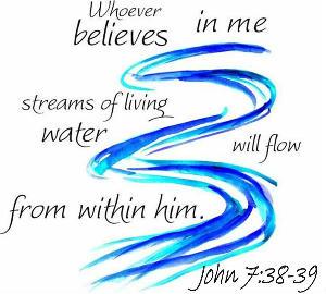 John 7.38-39