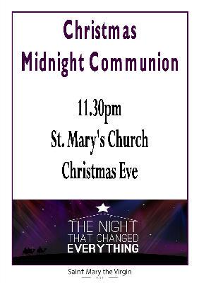 midnight comunion