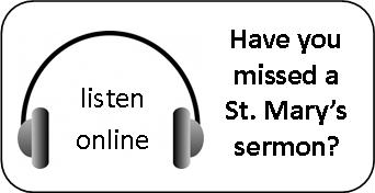 missed a sermon - listen online button