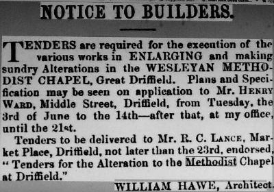 Advert 1862