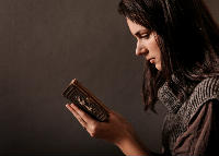 Woman and Bible