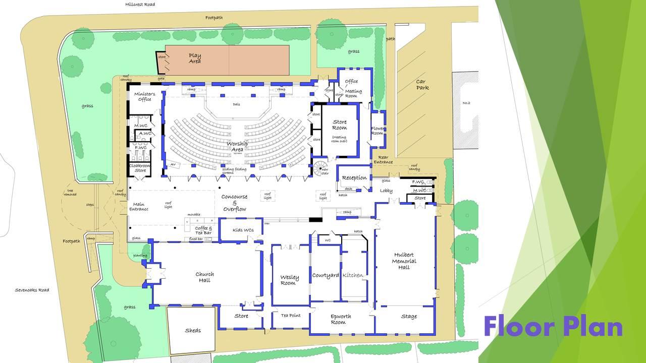 OMC future floor plan