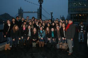 American Students: All enjoying their tour