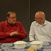 Men's Supper Paul and Mark Ord