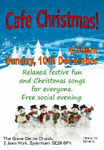 2017 Cafe Christmas Poster