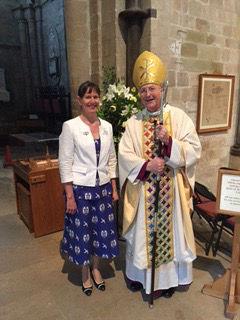 Bishop Nicholas Reade & Kathryn Anderson