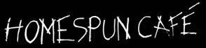 Logo for Homespun cafe