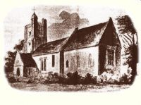 Church in 1807 by F.Petrie