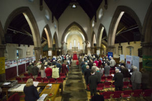 Congregation of representatives from all the Runcorn Churches