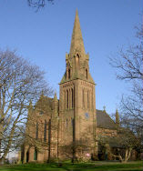 Picture of the church in Runcorn Old Town