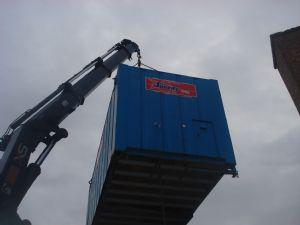 Porta cabin delivery