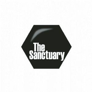 sanctuary logo honycomb
