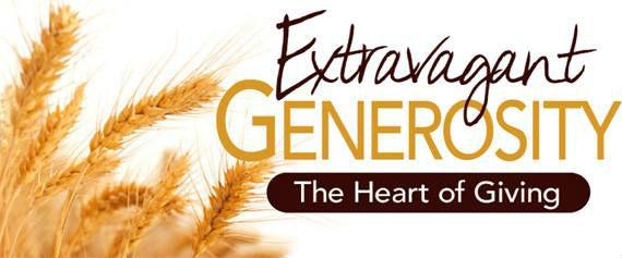 Extravagant Generosity
