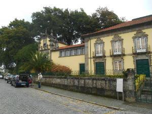 Distant view of Ponte de Lima chapel