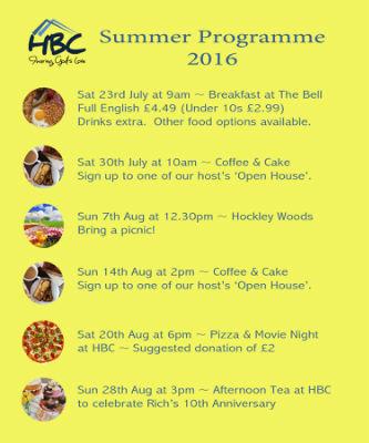 Summer Programme 2016