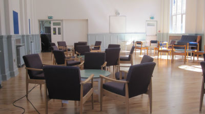 Hall set out for coffee