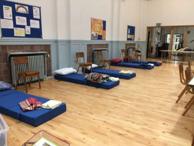 Hall ready for Night Shelter