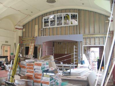 Hall showing new upper floor room