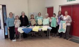 members of craft club