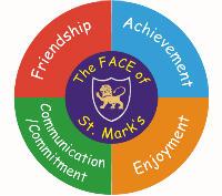 St Mark School logo