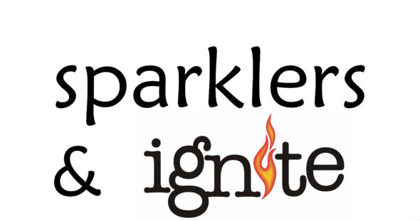 Sparklers and Ignite logo