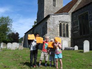 childrens church - kites