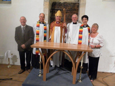 Bishop, Archdeacon, clergy and wardens Melbury