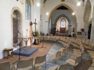 Refurbished Church Interior