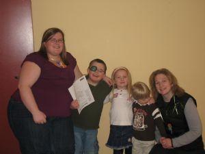 Sam, Ian, Sarah, Billy and Heather