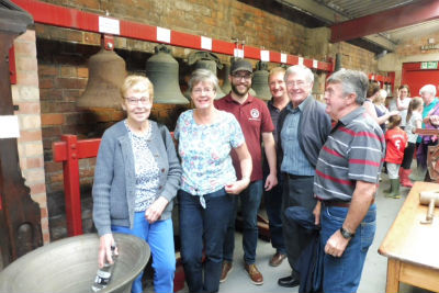 Visit to Bell Foundry