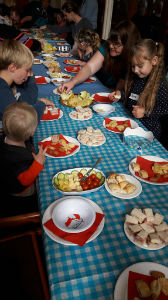 Messy Church lunch