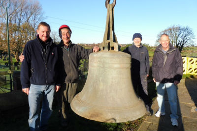 Tenor bell and bell ringers
