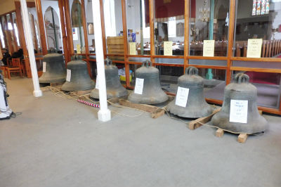 Removed bells on display