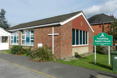 church hall and notice board