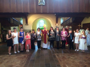 Confirmation 2014 with Bishop Christopher